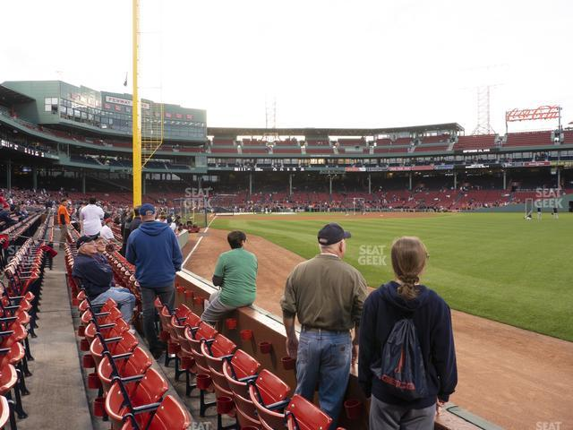 Fenway Park Right Field Box 4 view