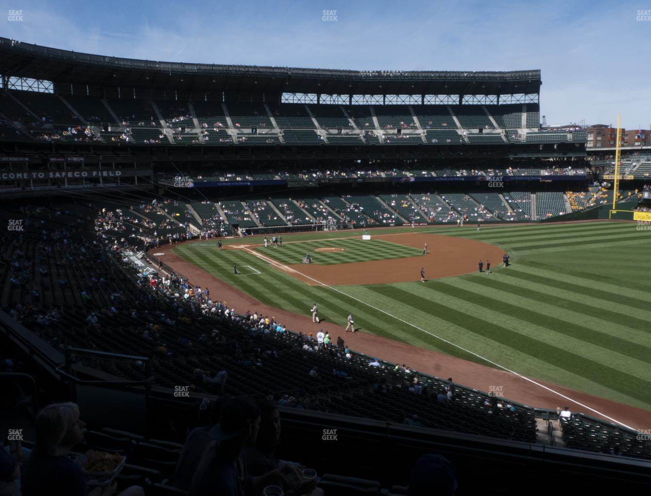 Seattle Mariners at T-Mobile Park Section 212 View