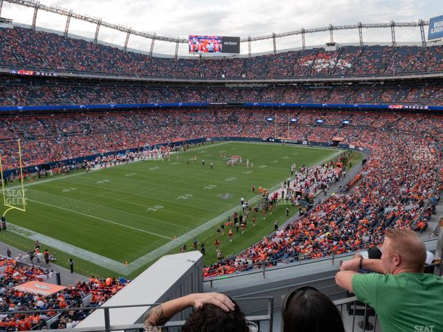 Empower FIeld at Mile High Section 346 view