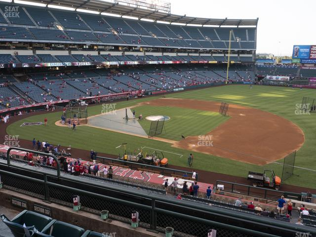 Angel Stadium of Anaheim Section 337 view
