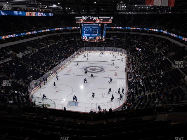 Bell MTS Place Section 327 view