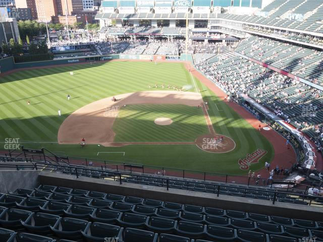 Progressive Field Section 559 view