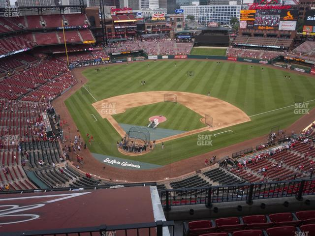 Busch Stadium Infield Terrace 448 view