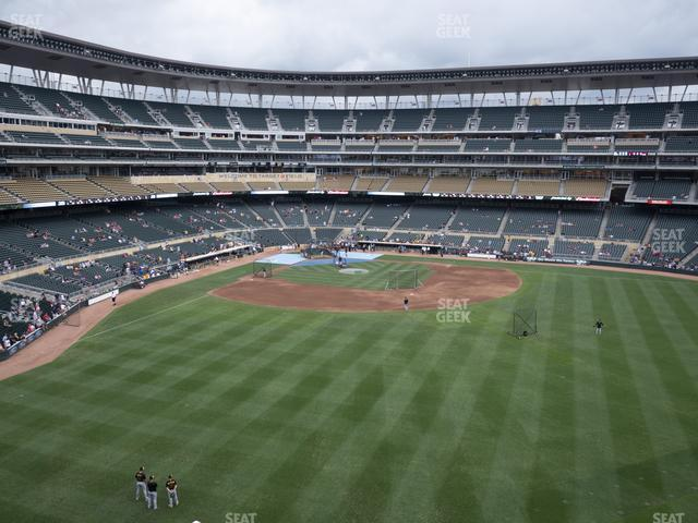Target Field Section 239 view