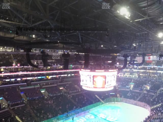 Staples Center Section 305 view