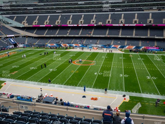 Soldier Field Section 335 view