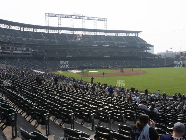 Coors Field Section 114 view