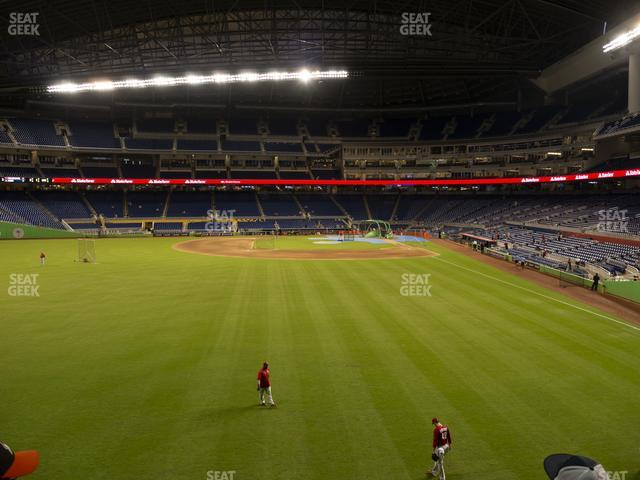 Marlins Park Section 31 view