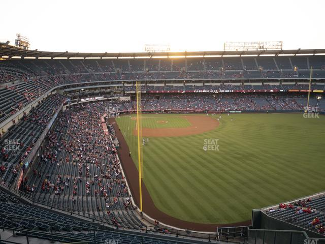 Angel Stadium of Anaheim Section 540 view