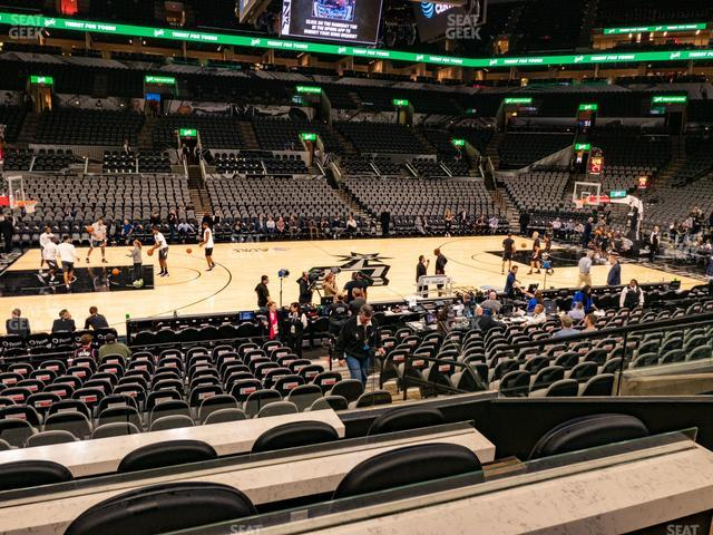 AT&T Center Box 14 view