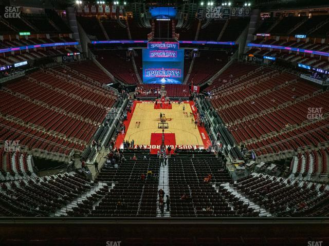 Toyota Center Section 401 view