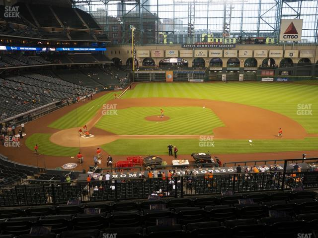Minute Maid Park Section 224 view