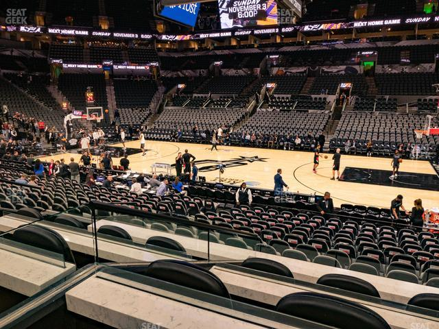 AT&T Center Box 10 view