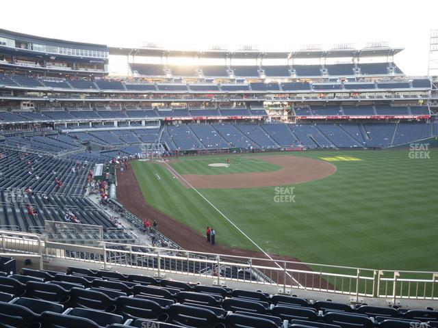 Nationals Park Section 233 view