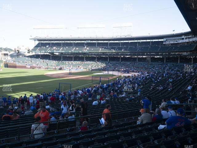 Wrigley Field Section 204 view