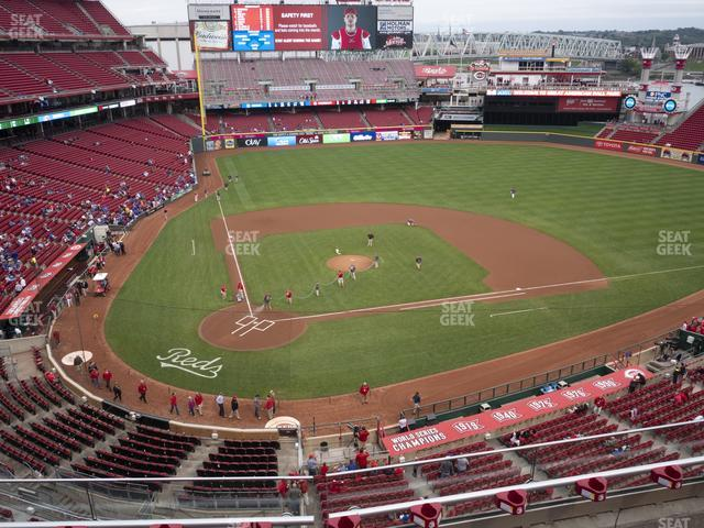 Great American Ball Park Section 427 view