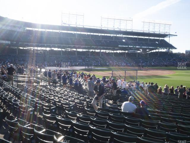 Wrigley Field Section 130 view