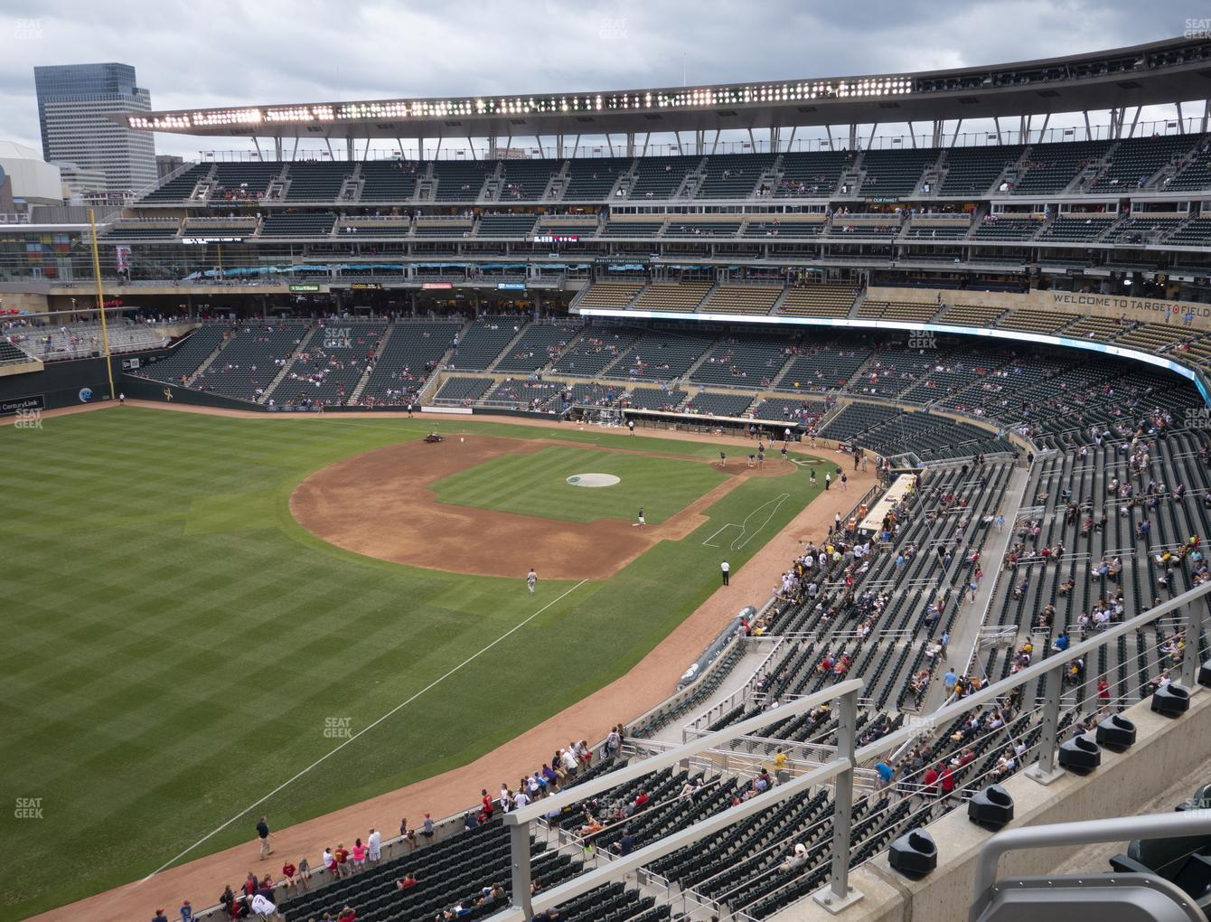 Minnesota Twins at Target Field Section 228 View