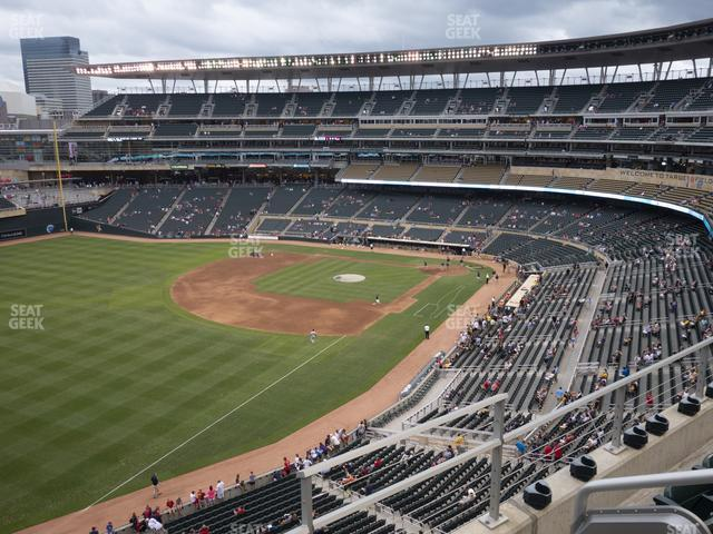 Target Field Section 228 view