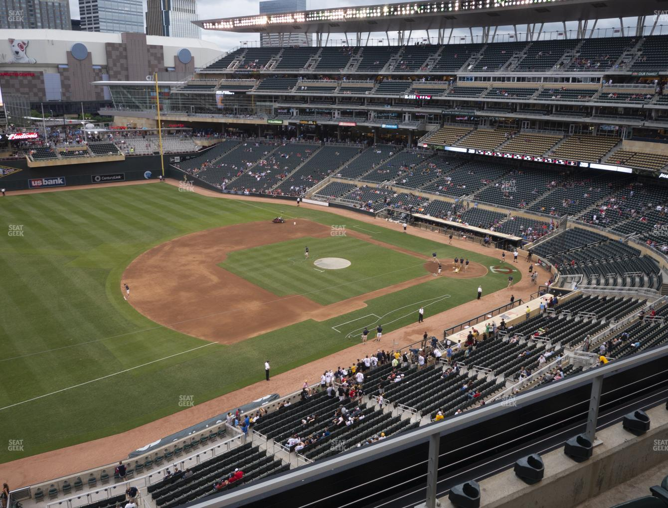 Minnesota Twins at Target Field Section 224 View