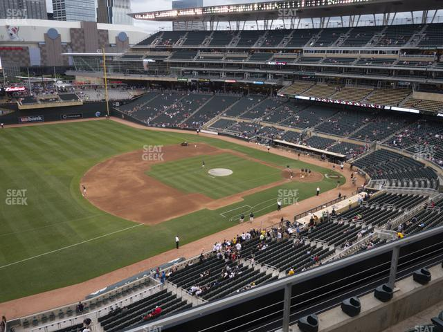 Target Field Section 224 view