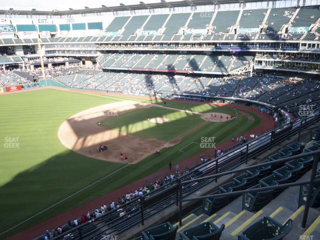 Progressive Field Section 472 view