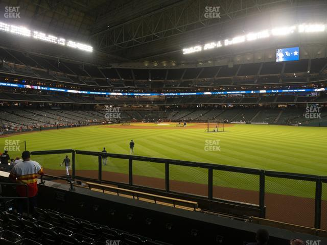 Minute Maid Park Section 156 view