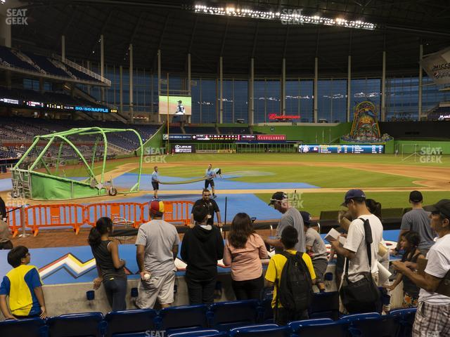 Marlins Park Section 10 view