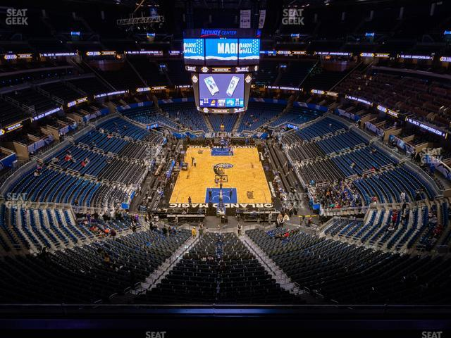 Amway Center Section 201 view