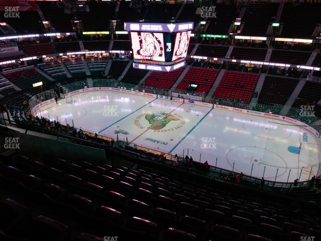 Canadian Tire Centre Section 306 view