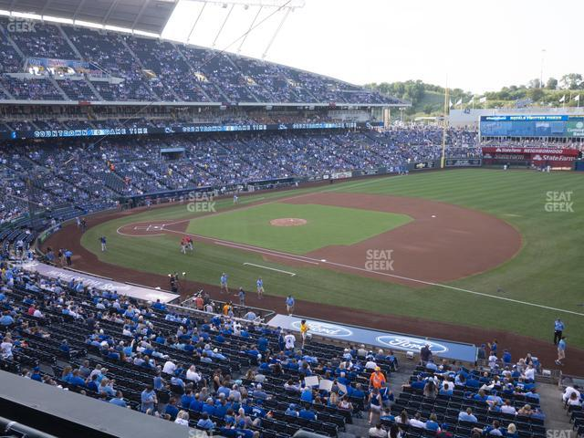 Kauffman Stadium Section 320 view