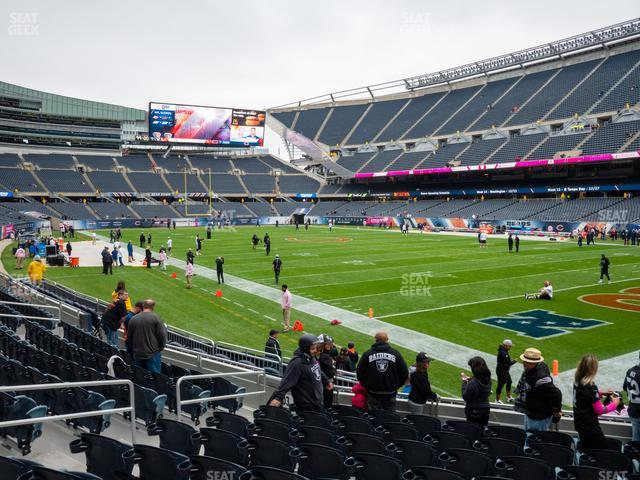 Soldier Field Section 101 view
