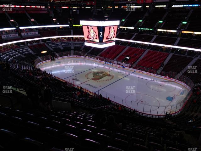 Canadian Tire Centre Section 305 view