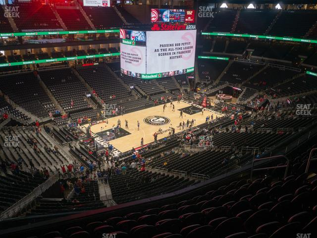 State Farm Arena Section 226 view