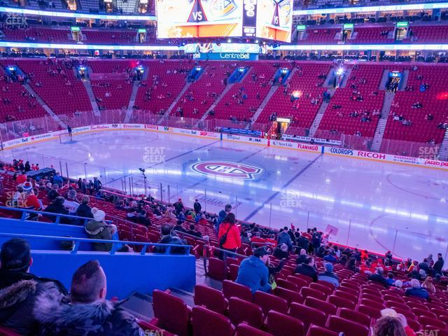 Bell Centre Section 111 view