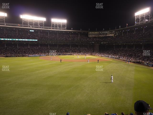 Wrigley Field Budweiser Bleachers 503 view