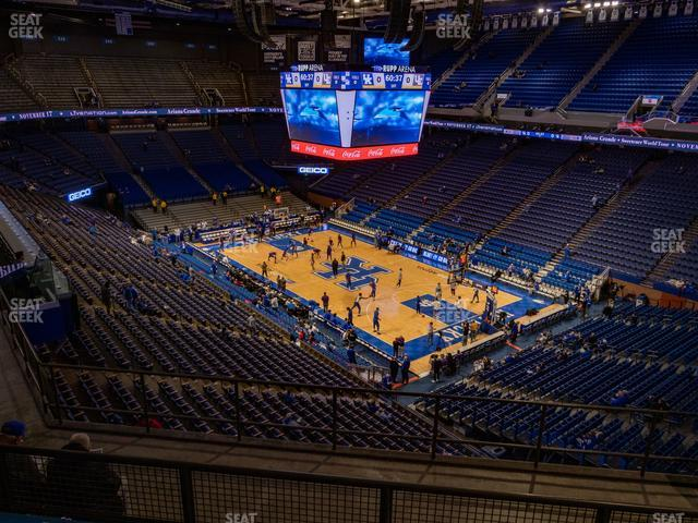 Rupp Arena Section 227 view