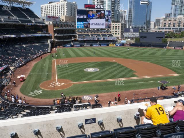Petco Park Section 203 view