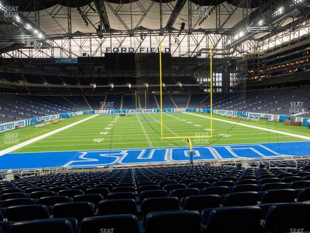 Ford Field Section 137 view