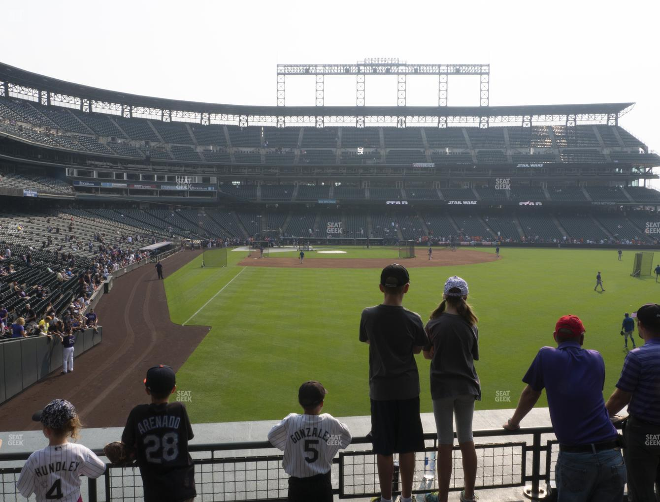 Coors Field Section 108 Seat Views Seatgeek