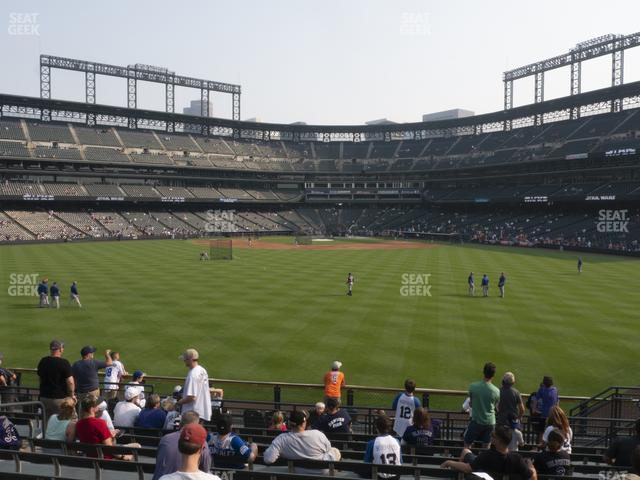 Coors Field Section 159 view