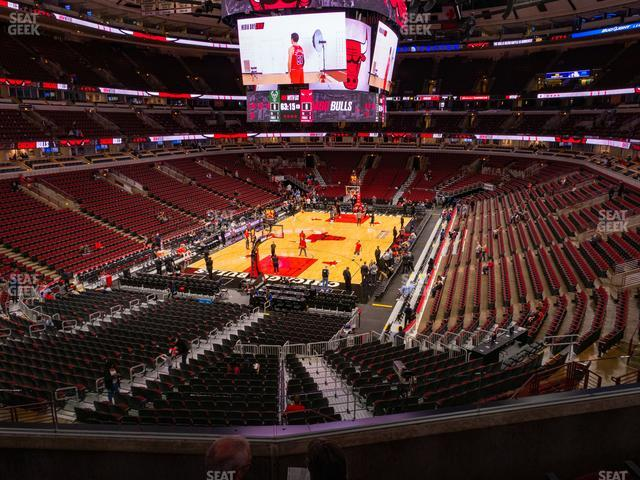 United Center Section 224 view