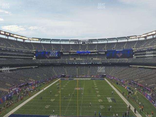 MetLife Stadium Section 225 A view