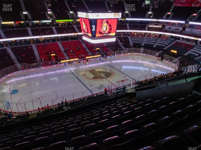 Canadian Tire Centre Section 324 view
