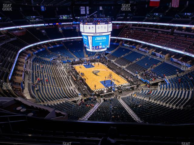 Amway Center Section 203 view