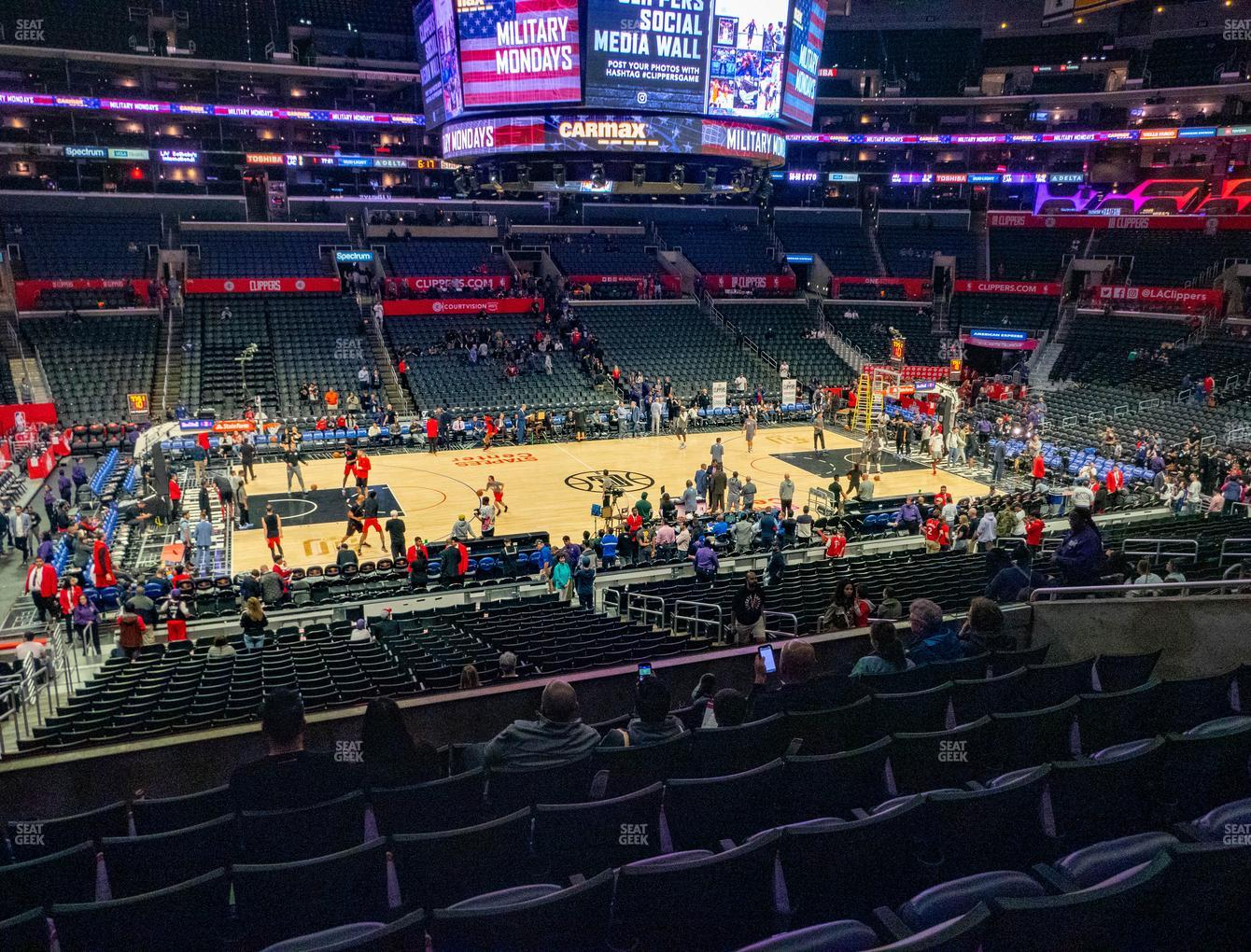 Los Angeles Sparks at Staples Center Premier 6 View
