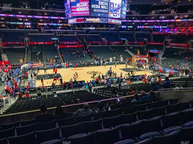 Staples Center Premier 6 view