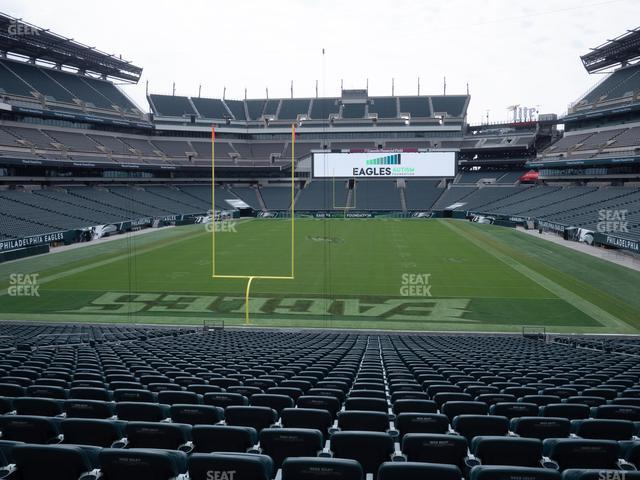 Lincoln Financial Field Section 129 view