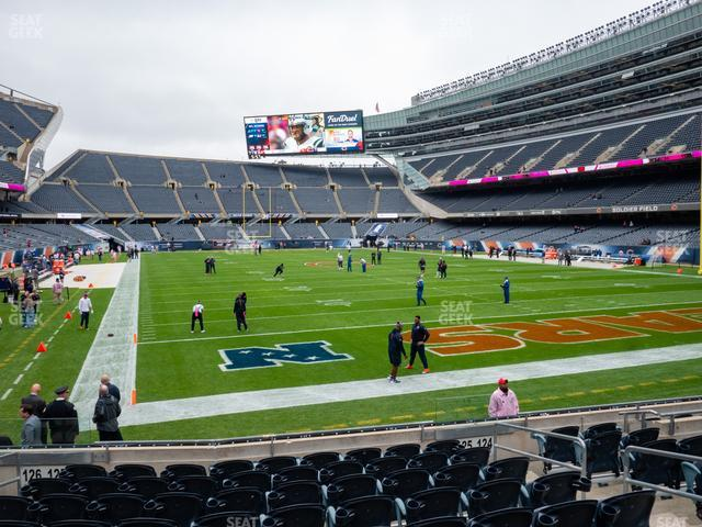 Soldier Field Section 125 view
