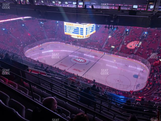 Bell Centre Section 434 view